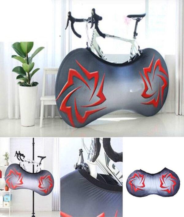 Universal Bicycle Bike Wheel Cover Bags Waterproof UV Weather Elastic Anti Dust Rust Resistant Gear Storage 5.jpg 640x640 5
