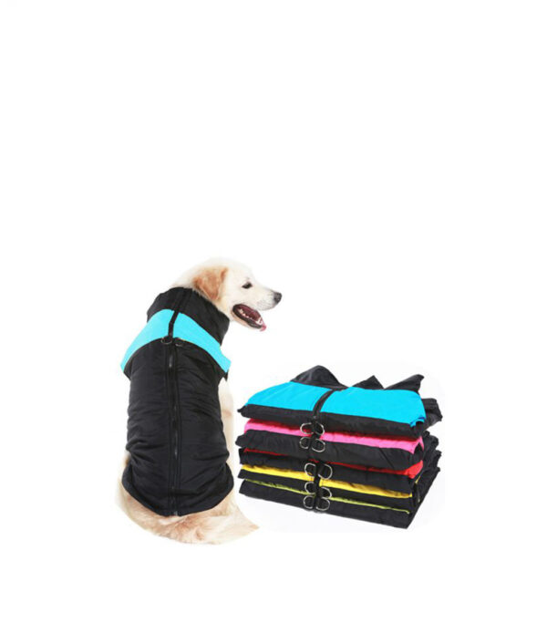 Winter Pet Dog Clothes Warm Big Dog Coat Puppy Clothing Waterproof Pet Vest Jacket For Small 510x510 1