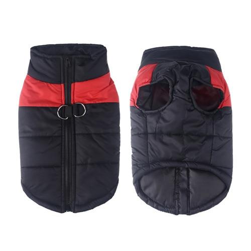 Winter Pet Dog Clothes Warm Big Dog Coat Puppy Clothing Waterproof Pet Vest Jacket For