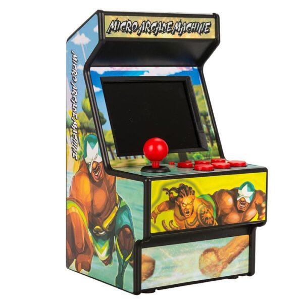Wolsen 16 Bit Sega Arcade video portable retro game console arcade cabinet TV handheld game built 2