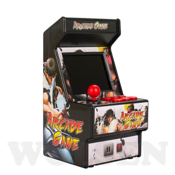 Wolsen 16 Bit Sega Arcade video portable retro game console arcade cabinet TV handheld game built 3