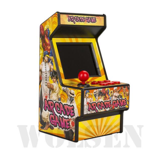 Wolsen 16 Bit Sega Arcade video portable retro game console arcade cabinet TV handheld game built 4