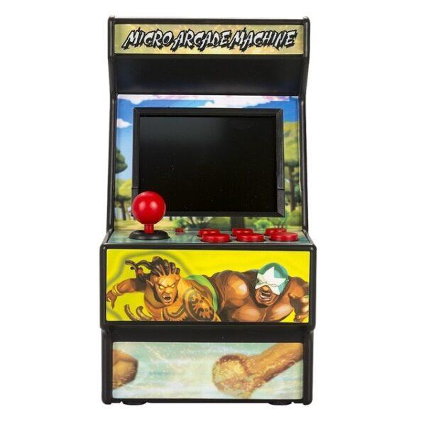 Wolsen 16 Bit Sega Arcade video portable retro game console arcade cabinet TV handheld game