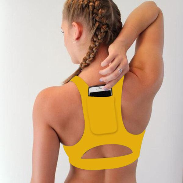 Woman s Pro Padded Compression Sports Bra Sportswear Spaghetti Strap Printed Yoga Bra Top 2.jpg 640x640 2