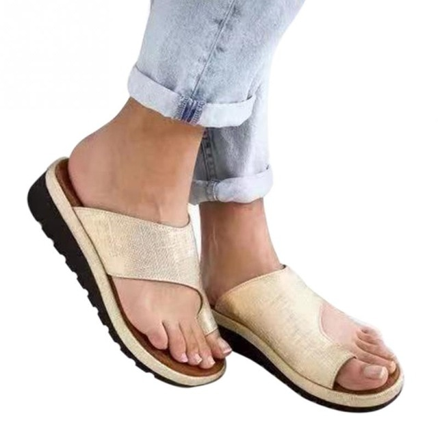 outlet boutique cozy fresh closer at Women Comfy Platform Sandal Shoes - Not sold in stores