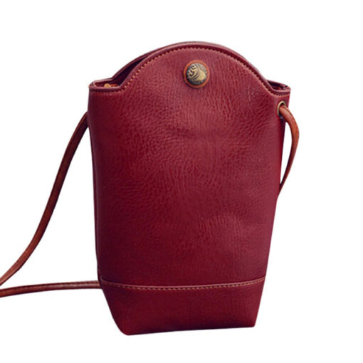 Small Magnetic Buck Slim Shoulder Bag, Small Magnetic Buck Slim Shoulder Bag