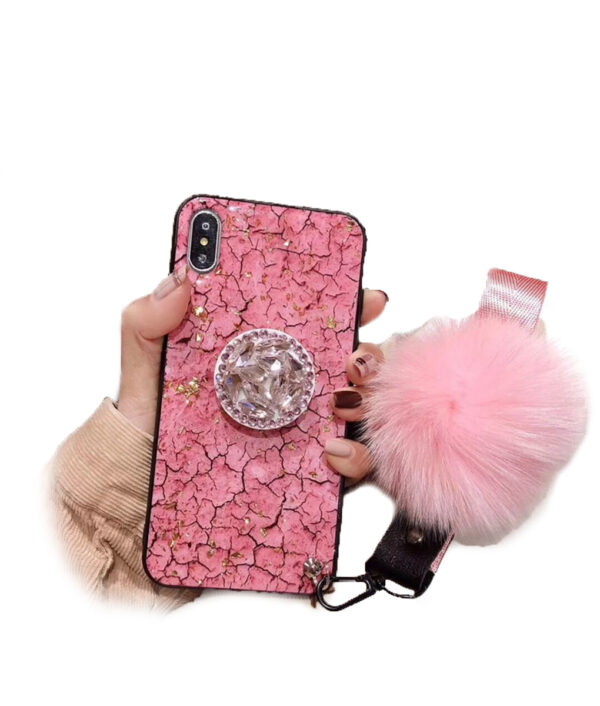 Yubocent Diamond Crystal Kickstand Phone Case For iPhone Xs max 6s 7plus Xr X Luxury Glitter 4 2
