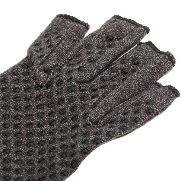 a pair 2018 NEW Hands Arthritis Gloves Therapeutic Compression Men Woman Circulation Grip Compression Arthritis Gloves 4