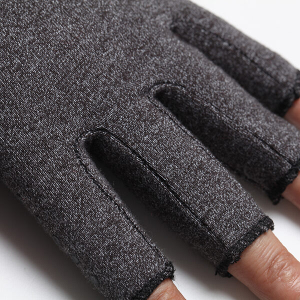 a pair 2018 NEW Hands Arthritis Gloves Therapeutic Compression Men Woman Circulation Grip Compression Arthritis Gloves 5
