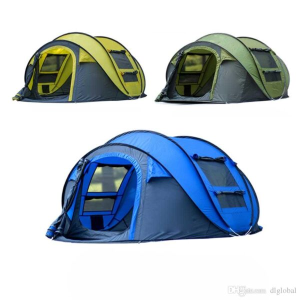 large throw tent outdoor 3 4persons automatic