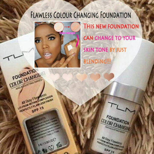 Flawless Color Changing Foundation, Flawless Color Changing Foundation