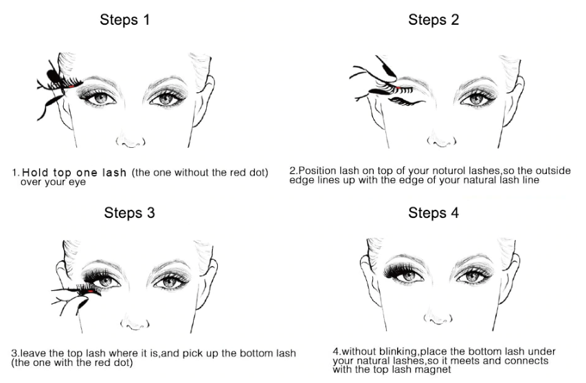 Magnetic Eyelashes, 3D Magnetic Eyelashes