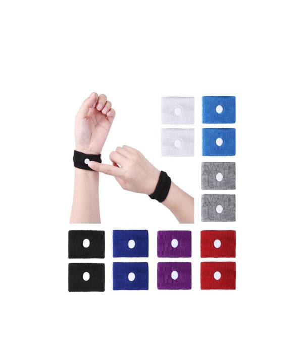 1 pair Anti nausea Wrist Support Sports Safety Wristbands Carsickness Seasick Anti Motion Sickness Wrist Bands 4 1