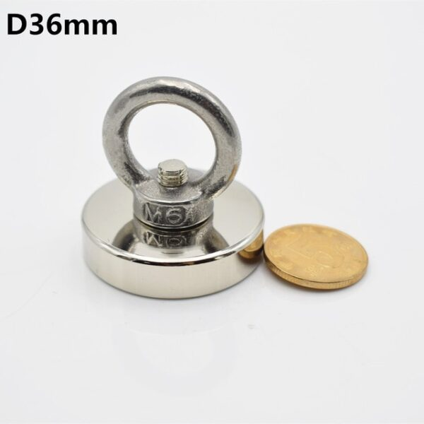 1pc Strong Neodymium magnet super powerful search magnets hook power magnetic material fishing salvage permanent NdfeB 2.jpg 640x640 2