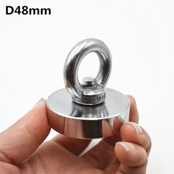 1pc Strong Neodymium magnet super powerful search magnets hook power magnetic material fishing salvage permanent NdfeB 4.jpg 640x640 4