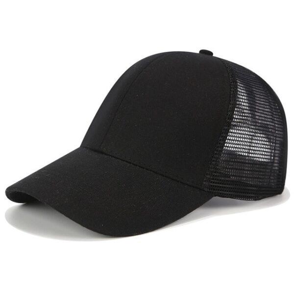 2018 Glitter Ponytail Baseball Cap Women Snapback Dad Hat Mesh Trucker Caps Messy Bun Summer Hat 12.jpg 640x640 12