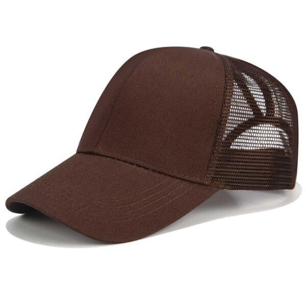 2018 Glitter Ponytail Baseball Cap Women Snapback Dad Hat Mesh Trucker Caps Messy Bun Summer Hat 13.jpg 640x640 13