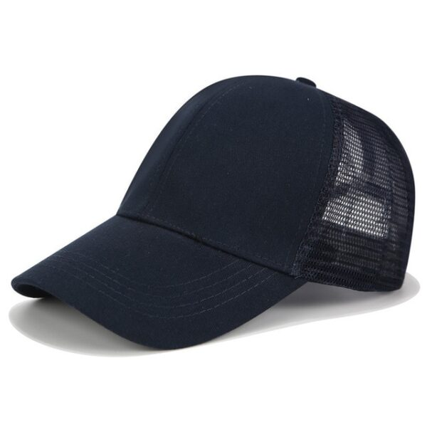 2018 Glitter Ponytail Baseball Cap Women Snapback Dad Hat Mesh Trucker Caps Messy Bun Summer Hat 14.jpg 640x640 14