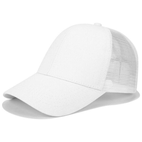 2018 Glitter Ponytail Baseball Cap Women Snapback Dad Hat Mesh Trucker Caps Messy Bun Summer Hat 15.jpg 640x640 15