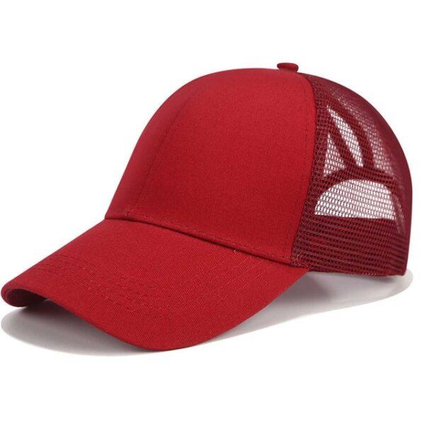 2018 Glitter Ponytail Baseball Cap Women Snapback Dad Hat Mesh Trucker Caps Messy Bun Summer Hat 23.jpg 640x640 23