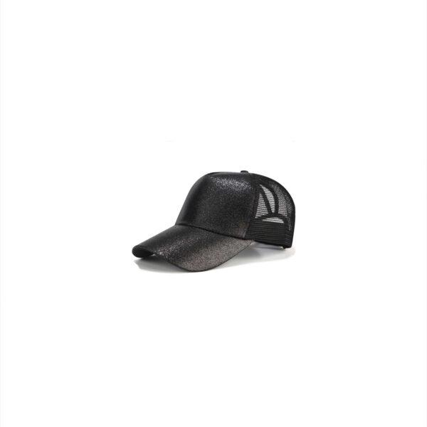 Glitter Ponytail Baseball Cap