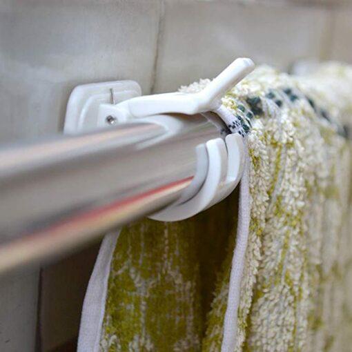 Self Adhesive Hooks Rod Bracket, Self Adhesive Hooks Rod Bracket