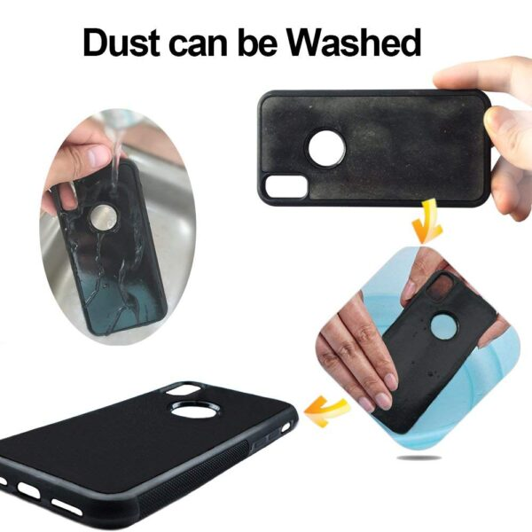 Anti Gravity Phone Case For iPhone XS MAX XS Back Magical Nano Suction Cover Adsorbed Cover 3