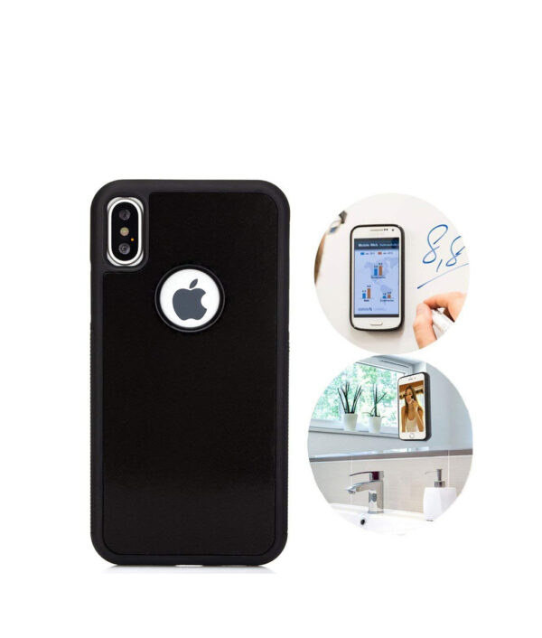Anti Gravity Phone Case For iPhone XS MAX XS Back Magical Nano Suction Cover Adsorbed Cover 6