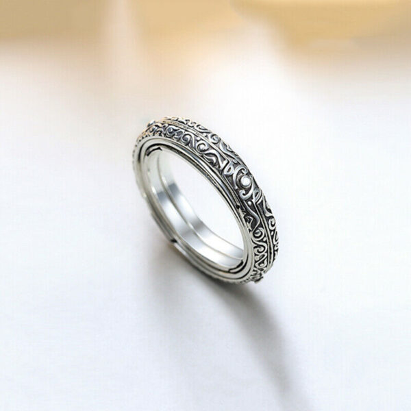 Astronomical Sphere Ball Ring Cosmic Finger Ring Couple Lover Jewelry Gifts TC21 4