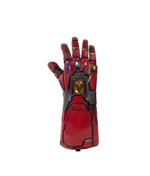 Avengers Endgame Iron Man Infinity Gauntlet Cosplay Arm Thanos Latex Gloves Arms Superhero Masks Weapon Props 1 510x510 1