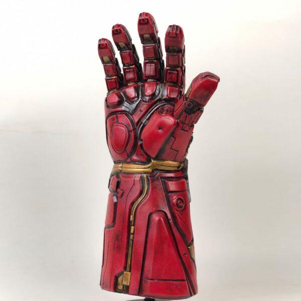 Avengers Endgame Iron Man Infinity Gauntlet Cosplay Arm Thanos Latex Gloves Arms Superhero Masks Weapon Props 2