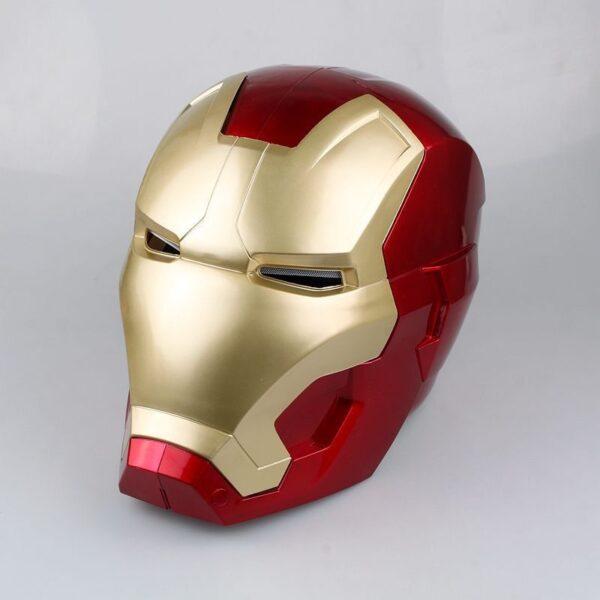 Avengers Iron Man Helmet Cosplay Marvel Superhero Tony Stark Action Figure Touch Sensing Mask with LED 1