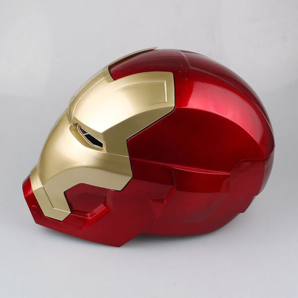 Avengers Iron Man Helmet Cosplay Marvel Superhero Tony Stark Action Figure Touch Sensing Mask with LED 4
