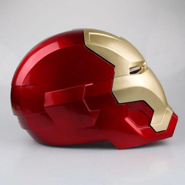 Avengers Iron Man Helmet Cosplay Marvel Superhero Tony Stark Action Figure Touch Sensing Mask with LED 5