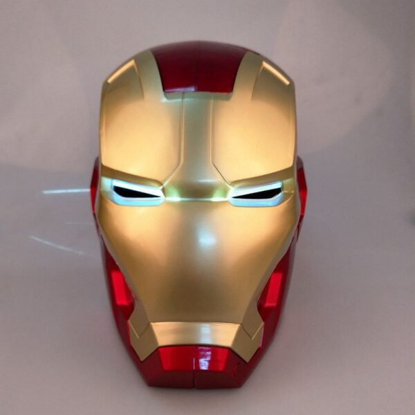 Avengers Iron Man Helmet Cosplay Marvel Superhero Tony Stark Action Figure Touch Sensing Mask with LED