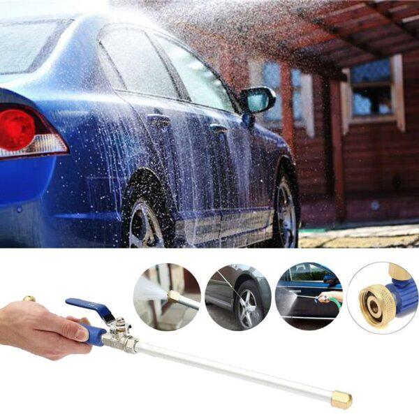Car High Pressure Washer Water Gun Power Jet Washer Spray garden Nozzle Water Hose Wand Attachment 5