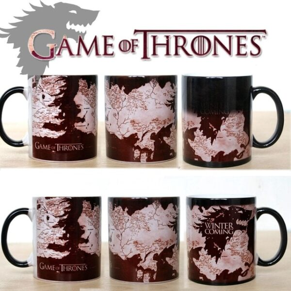 Drop shipping Game Of Thrones mugs Tribal totem mug color changing magic mugs cup Tea coffee 10.jpg 640x640 10