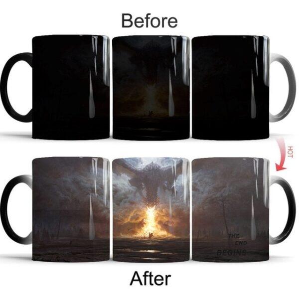 Drop shipping Game Of Thrones mugs Tribal totem mug color changing magic mugs cup Tea coffee 11.jpg 640x640 11