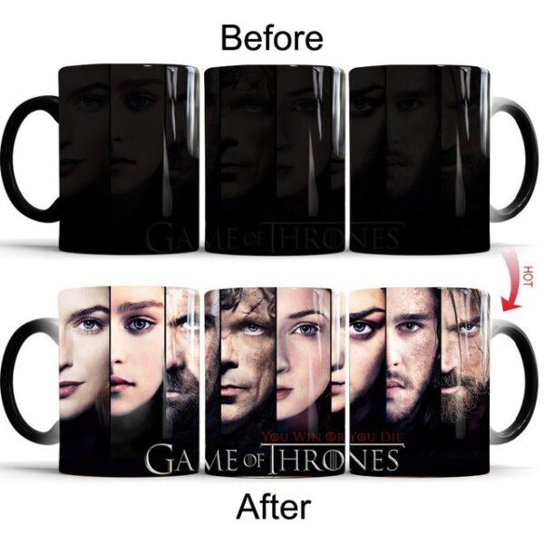 Drop shipping Game Of Thrones mugs Tribal totem mug color changing magic mugs cup Tea coffee 5.jpg 640x640 5