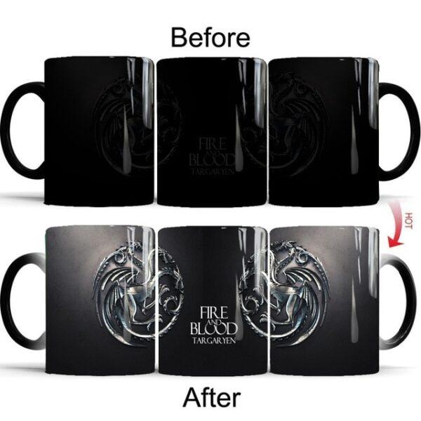 Drop shipping Game Of Thrones mugs Tribal totem mug color changing magic mugs cup Tea coffee 7.jpg 640x640 7