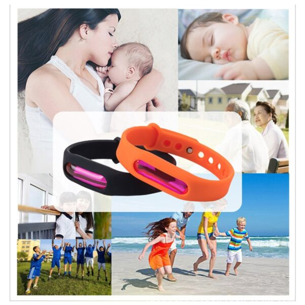 Dropship 1set Bracelet Anti Mosquito Capsule Pest Insect Bugs Control Mosquito Repellent Wristband For Kids Mosquito 1