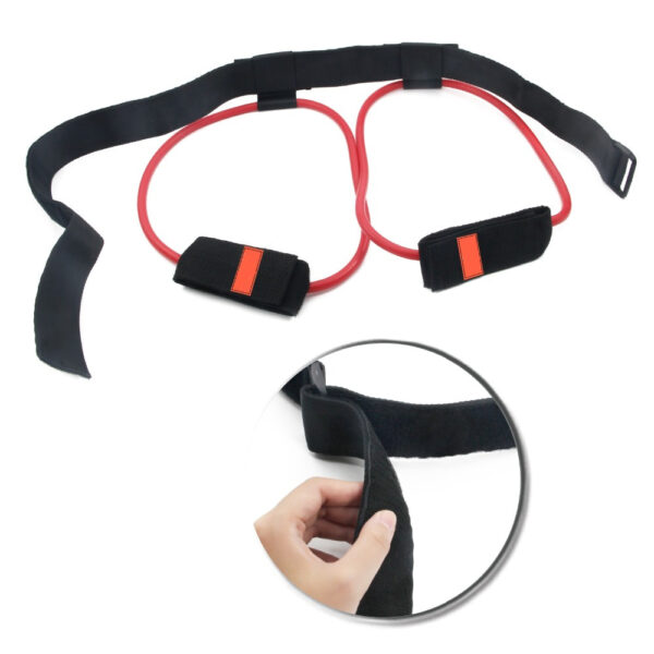 Fitness Women Booty Butt Band Resistance Bands Adjustable Waist Belt Pedal Exerciser for Glutes Muscle Workout 1 1