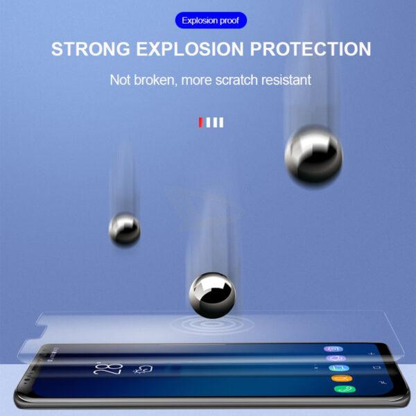 Full Glue UV Tempered Screen Glass For Samsung Galaxy S10E S8 S9 S10 PLus Protector Film 1 1