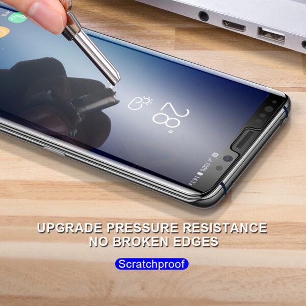 Full Glue UV Tempered Screen Glass For Samsung Galaxy S10E S8 S9 S10 PLus Protector Film 2 1