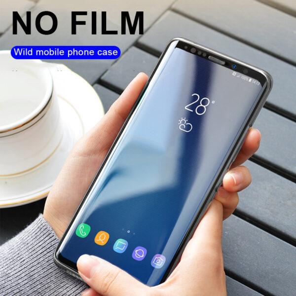 Full Glue UV Tempered Screen Glass For Samsung Galaxy S10E S8 S9 S10 PLus Protector Film 3 1