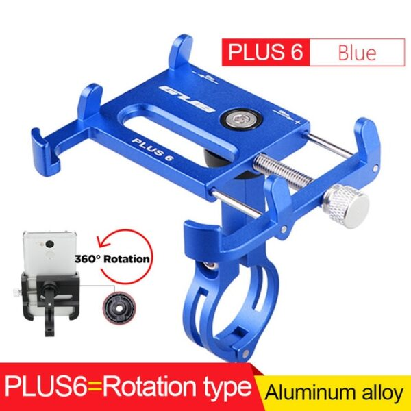 GUB Bicycle GPS Mobile Phone Mount Holder For Phone Bracket Support Sport Cycling Bike Aluminum Alloy 5.jpg 640x640 5
