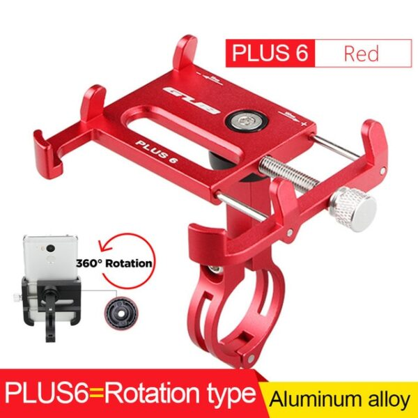 GUB Bicycle GPS Mobile Phone Mount Holder For Phone Bracket Support Sport Cycling Bike Aluminum Alloy 7.jpg 640x640 7