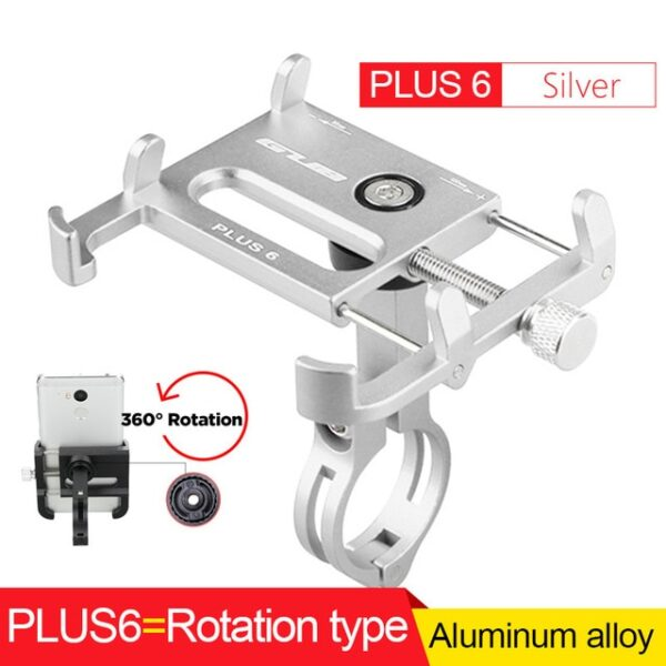 GUB Bicycle GPS Mobile Phone Mount Holder For Phone Bracket Support Sport Cycling Bike Aluminum Alloy 8.jpg 640x640 8