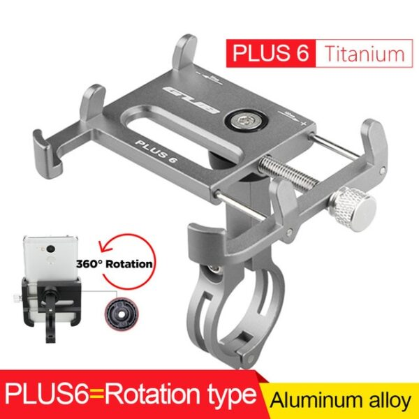 GUB Bicycle GPS Mobile Phone Mount Holder For Phone Bracket Support Sport Cycling Bike Aluminum Alloy 9.jpg 640x640 9