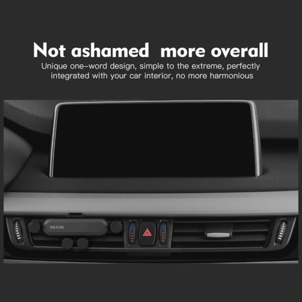 Gravity Car phone Holder For iphone X Xs Max Samsung S9 in Car Air Vent Mount 4